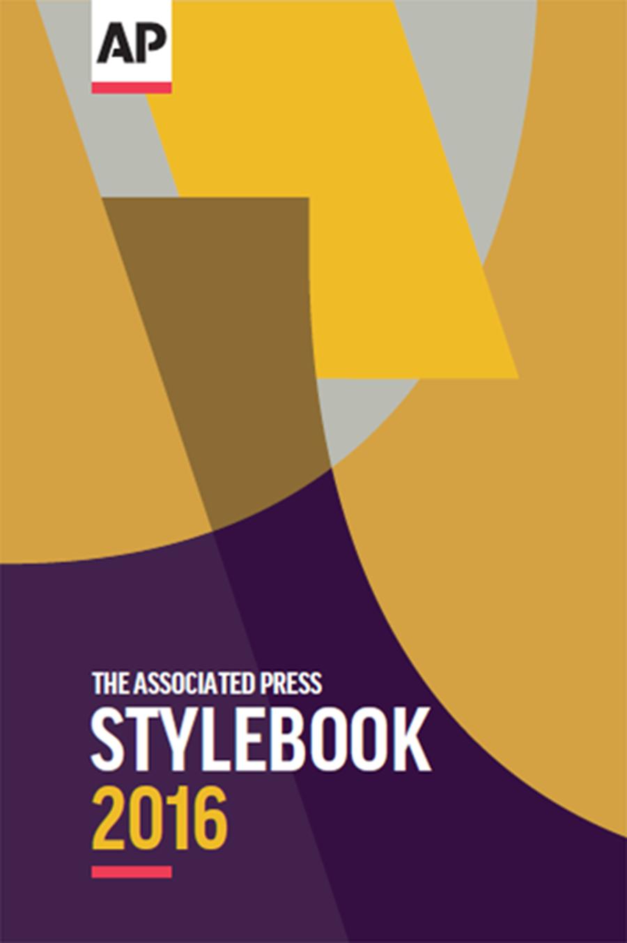 2016 AP Stylebook (print edition)